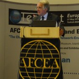 The General Manager of AFCEA Europe Robert Howell